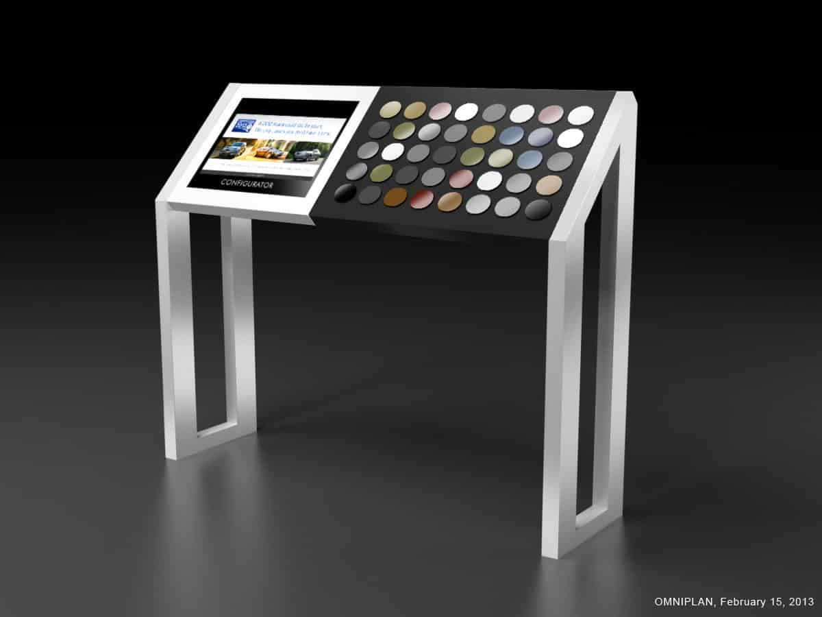 Smart displays battery powered