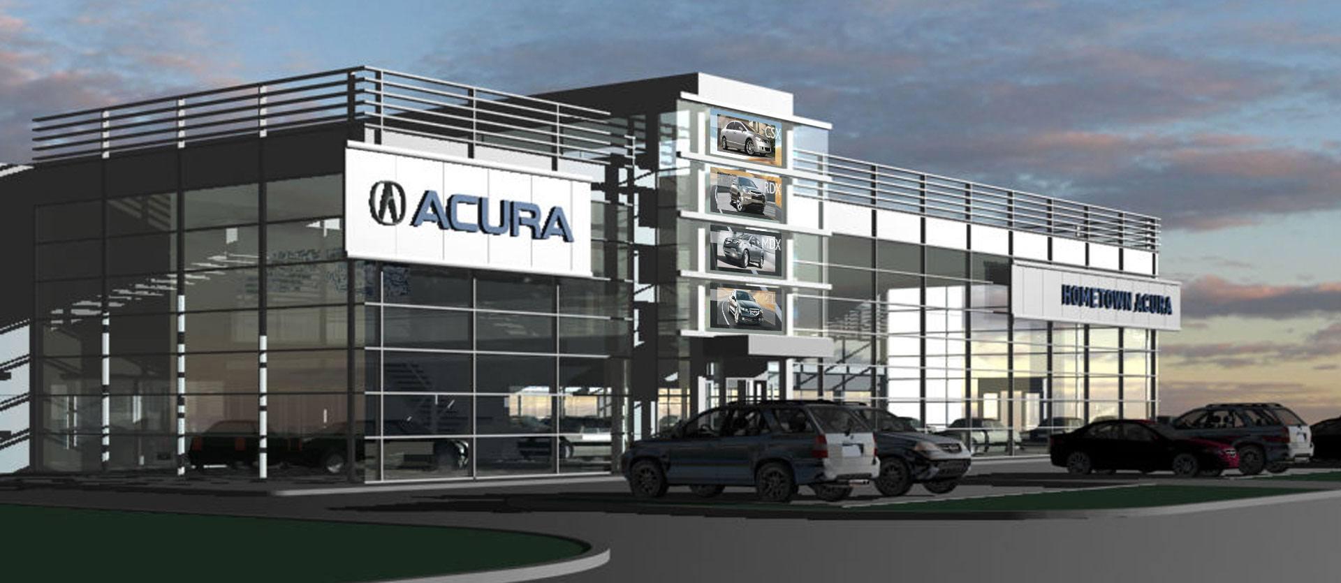 Acura Dealership Custom Display