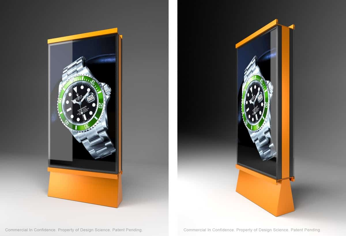 Moveable digital displays