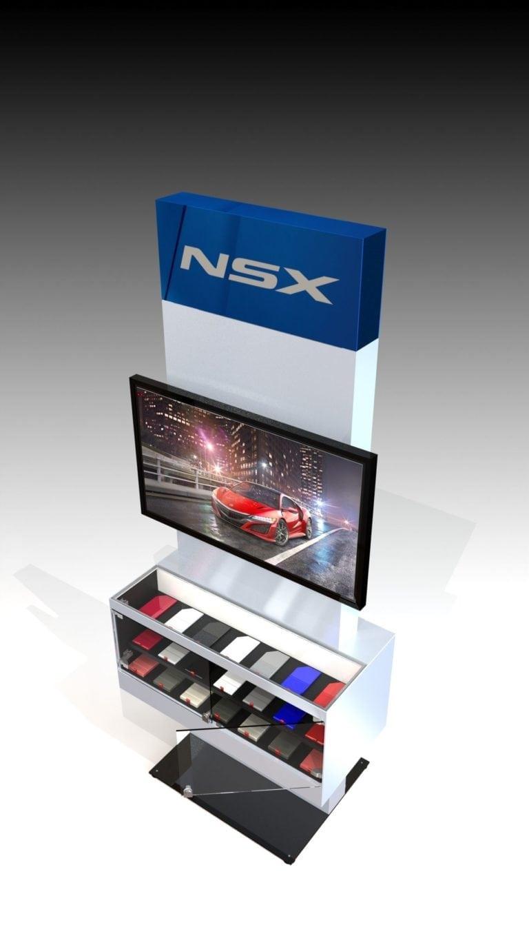 Interactive displays no cords