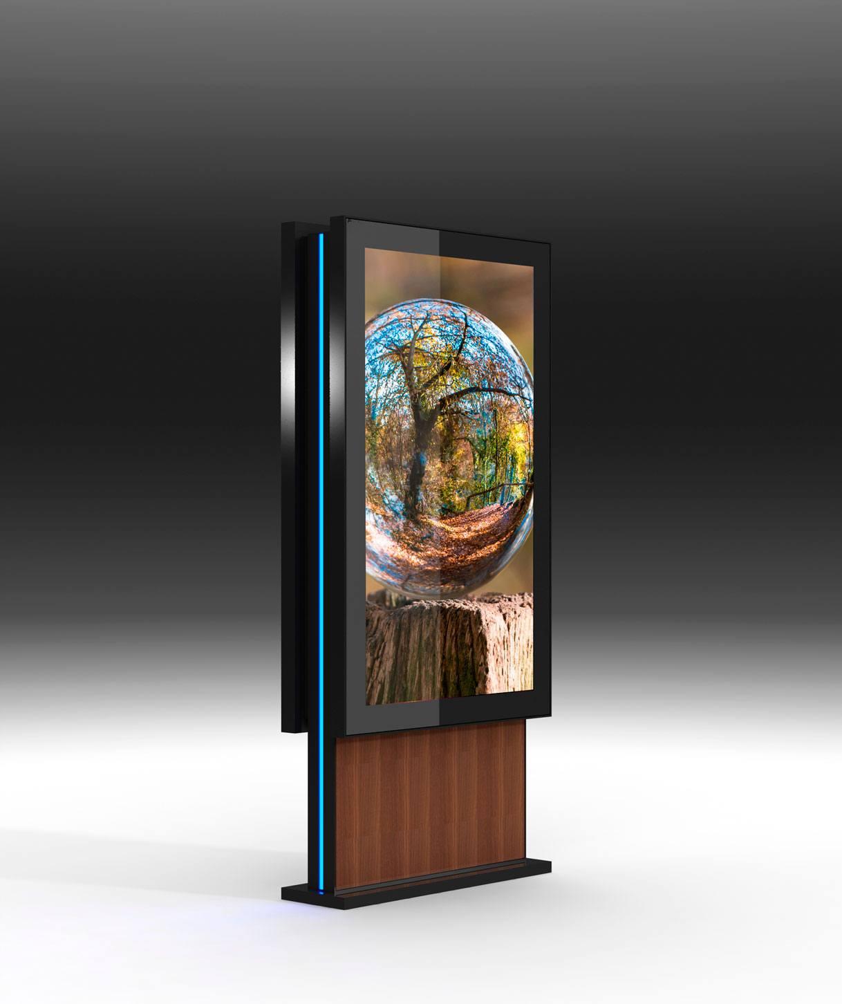 Moveable digital displays