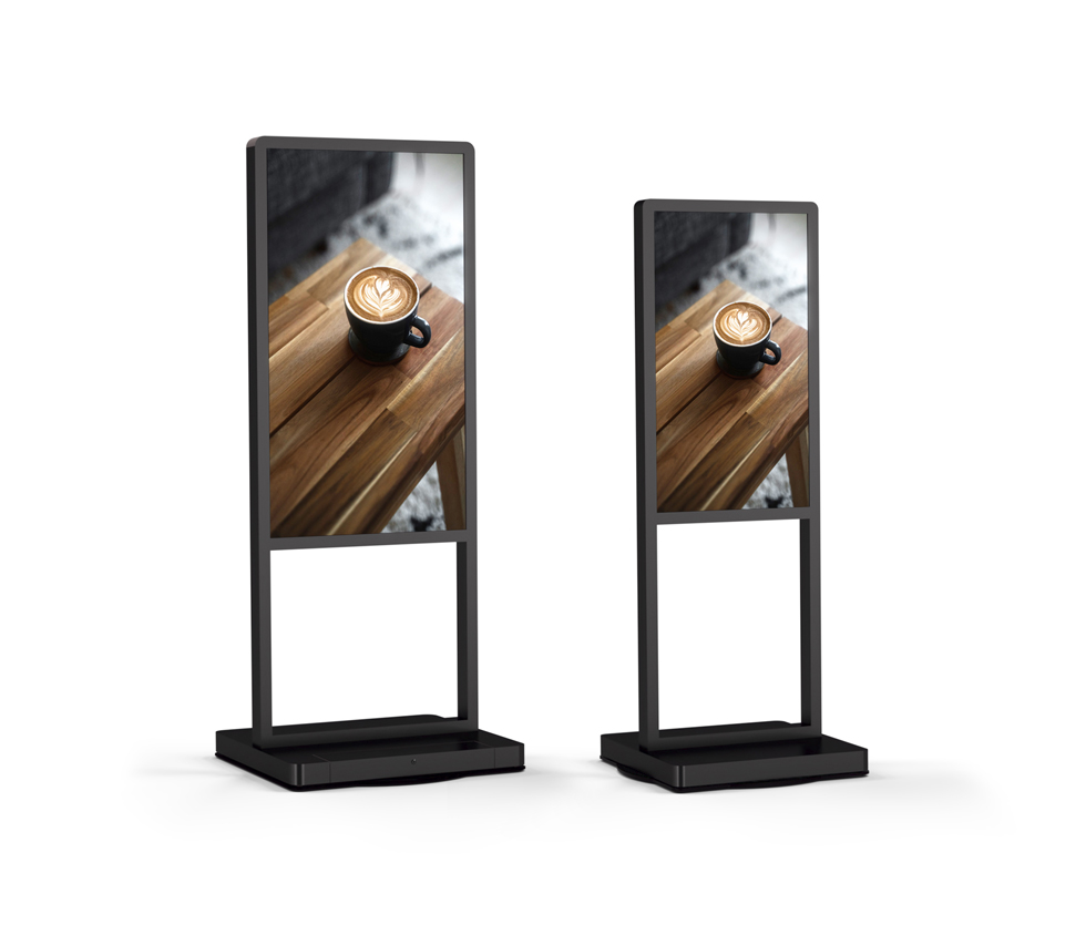 "B5 55"" 43"" series digital signage"