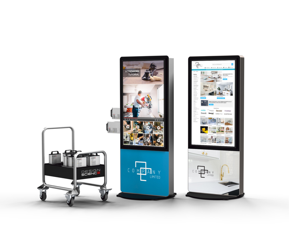 DS Battery Collection Cart