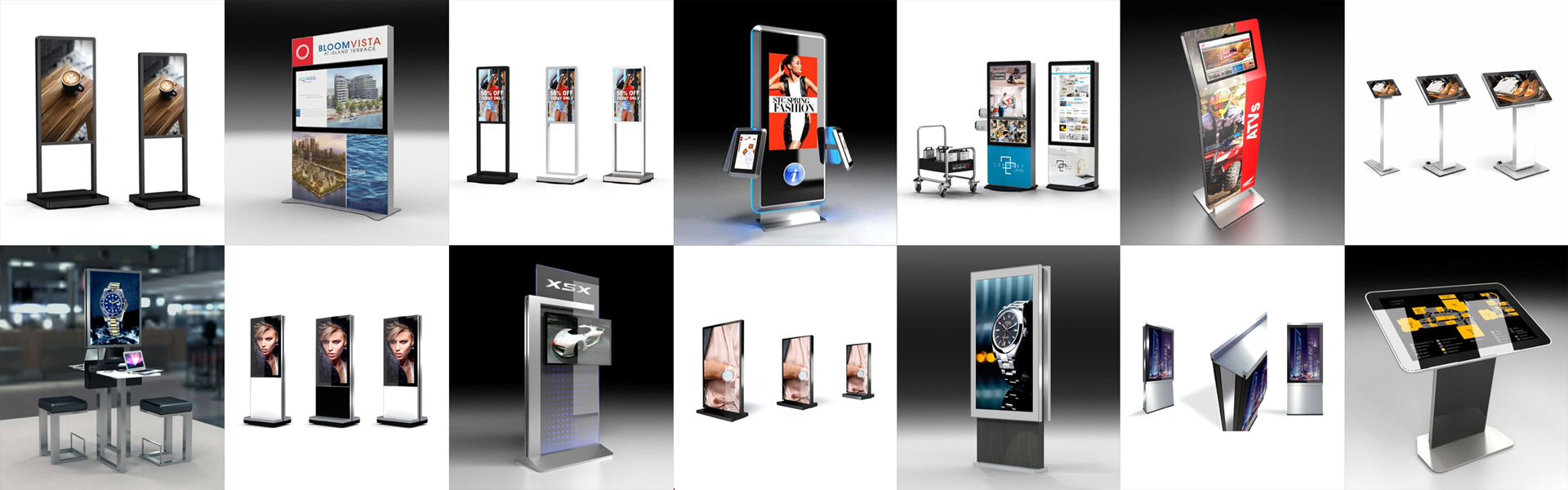 Contact Us for DS Digital Signage and Kiosks